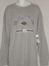 NEW Baltimore Ravens Helmet Figure Logo Vintage NFL Football T Shirt Men's 3XL