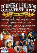 Country Legends Greatest Hits: 50 Mini Concerts [New DVD]
