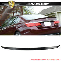 USA STOCK13-16 Honda Accord 4Dr Sedan OE Style Unpainted Trunk Spoiler Wing ABS