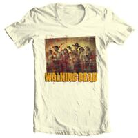 The Walking Dead T-shirt Season 1 TV show zombie horror 100% cotton graphic tee