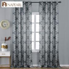 NAPEARL 1 Panel Luxury Rustic European Decor Window Curtains Eyelets Top Drapes