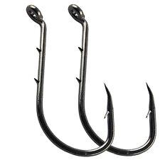 100+100pcs 1/0-2/0 Octopus Circle Fishing Hook 8299 Sharp Carbon Steel Fishook