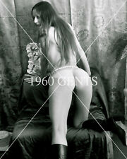 1969 NUDE 8X10 PHOTO BUSTY NICE ASS BREASTS LYNN McCONNELL FROM ORIGINAL NEG-3