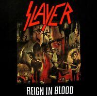 SLAYER cd cvr REIGN IN BLOOD Official Black SHIRT Size XL new