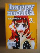 HAPPY MANIA - Moyoco Anno Vol.2 di 11 edizione Star Comics   [G371E]