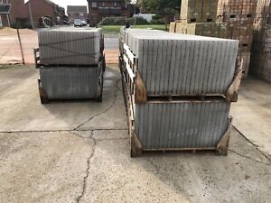 Bradstone Concrete Flags / Slabs Grey 600x900x50 - 15 pack free delivery