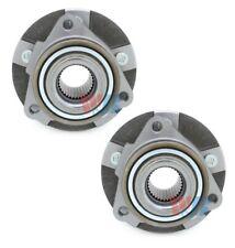 Pair Set of 2 Front WJB Wheel Bearing & HD Hub Kits for Saturn Chevy No ABS