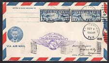 US C7 Tied on CAM Route 22 Extension to Laredo Texas Cover AAMC #22SW5 10/1/28