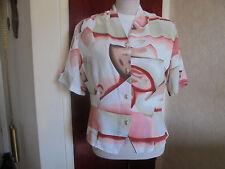 Short Sleeved Summer Blouse - Size 14