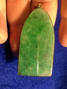 Chinese Vintage Green  Jade / Jadeite Pendant