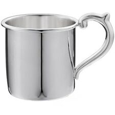 Sterling Silver Plain Baby Cup - From SPAIN
