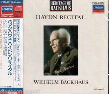 Wilhelm Backhaus: Haydn Recital - CD London Japan
