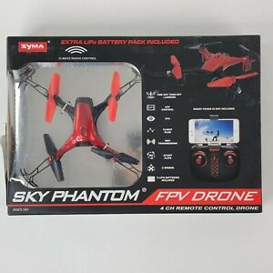 Sky Phantom WiFi FPV Drone by SYMA, Green or Red Drone