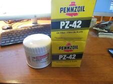 2 Pennzoil PZ42 Oil Filters & 1 MotorCraft FL820S