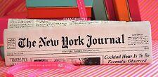 NWT Kate Spade New York Journal Newspaper Clutch Purse SUPER CUTE!