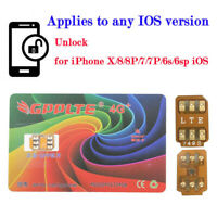 2019 GPPLTE Unlock Turbo NANO SIM Card For iPhone XS X 8 7 6S 6 Plus 5S 5 4G