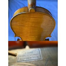 Old French Violin - F. Barbé - very good condition