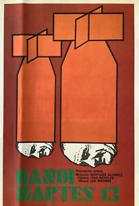 Cuban Poster. Hanoi Martes 13, 1975. Poster by ICAIC. Measures: 11 x 17