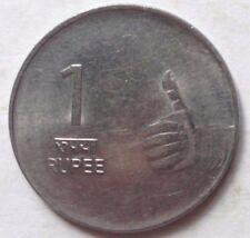 India 1 Rupee 2008 coin