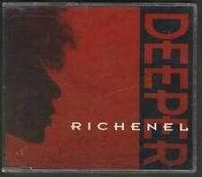 RICHENEL Deeper 4 TRACK CD MAXI EURODANCE