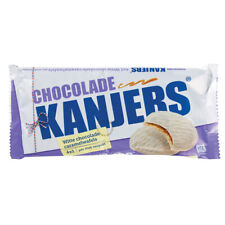 Kanjers White Chocolate Cookies Stroopwafels Original Dutch 180G