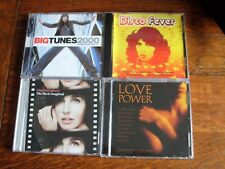 Disco Fever + Love Power + Big Tunes 2000 + The Movie Songbook CD's