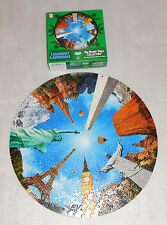 Legendary Landmarks 19 Round Table Jigsaw Puzzle 500 Pieces Statue of Liberty