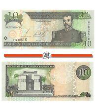 Dominican Republic 10 Pesos 2002 Unc Pn 168b