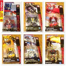 Transformers G1 Optimus prime Skywarp Cliffjumper Bumblebee UltraMagnus Grimlock