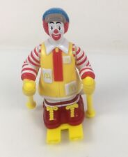 Ronald McDonald Skiing Moving Figure Toy 1994 Vintage Mcdonalds Happy Meal