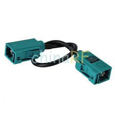 """Fakra Female to Jack RG174 """"Z"""" Pigtal cable RG174 1m for Wireless Neutral Coding"""