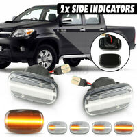 Dynamic LED Side Repeater Indicator Light For Toyota Hilux Celica Mk6    **