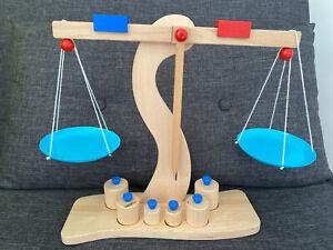 Goki Wooden Scale Set