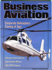 Business & Commercial Aviation Magazine February 1997 EX FAA 030716jhe