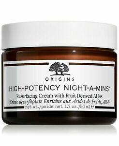 Origins High-Potency Night-A-Mins Resurfacing Cream 1.7oz/50ml NIB