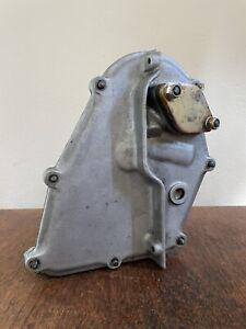 1965 Porsche 911 Left Side Chain Box w/ Cover FUEL PUMP Sand Cast Aluminum