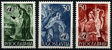 Yugoslavia 1953 SG#747-749 United Nations MH Set #D52320