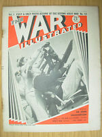 WAR ILLUSTRATED MAG No 12 DECEMBER 2nd 1939 FRENCH SAILORS MAN THEIR A.A. GUNS