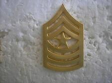 USMC HAT PIN - SERGEANT MAJOR - SATIN FINISH