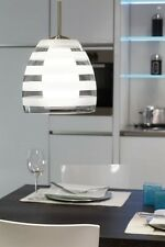Suspension de cuisine Verre Lustre Lampe pendante Plafonnier transparent 54997
