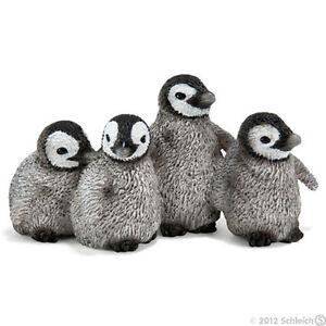 NEW SCHLEICH 14618 Emperor Penguin Chicks - RETIRED