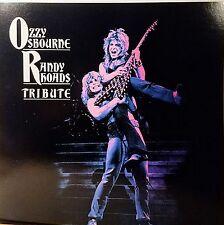 OZZY OSBOURNE & RANDY RHOADS 'Tribute' Promo Album Flat Mint! 1987