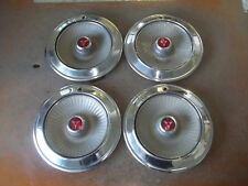 "Dodge Polara Monaco Hubcap Rim Wheel Cover Hub Cap 1965 65 14"" OEM USED 569 SET"