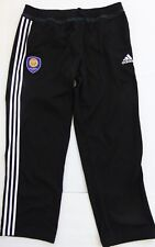 Adidas Mens Orlando City SC Anthem Sideline Pants Black MLS Sz XL