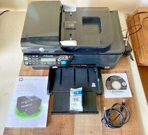 HP OfficeJet 4500 All-In-One Inkjet Printer + Tri Color Ink + Manual