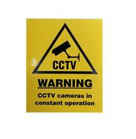 CCTV Warning Self Adhesive Sign / Sticker - Cameras in Constant Operation