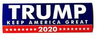 2020 TRUMP KEEP AMERICA GREAT Sticker/ Decal Bumper Stickers Actual Pattern NEW