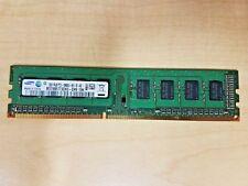 2x2GB Samsung 4GB PC3-10600 DDR3-1333 Desktop Memory RAM M378B5773CH0-CH9