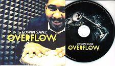 EDWIN SANZ Overflow 2016 UK 9-track promo CD + press release