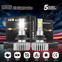 2x 9006 HB4 LED Headlight Kit 2900W 290000LM Hi/Lo Beam CREE Bulbs 6000K White c